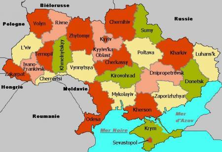 Ucrania Mapa